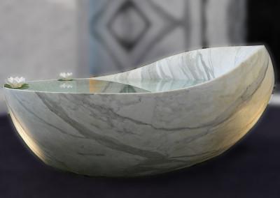 bañera mármol