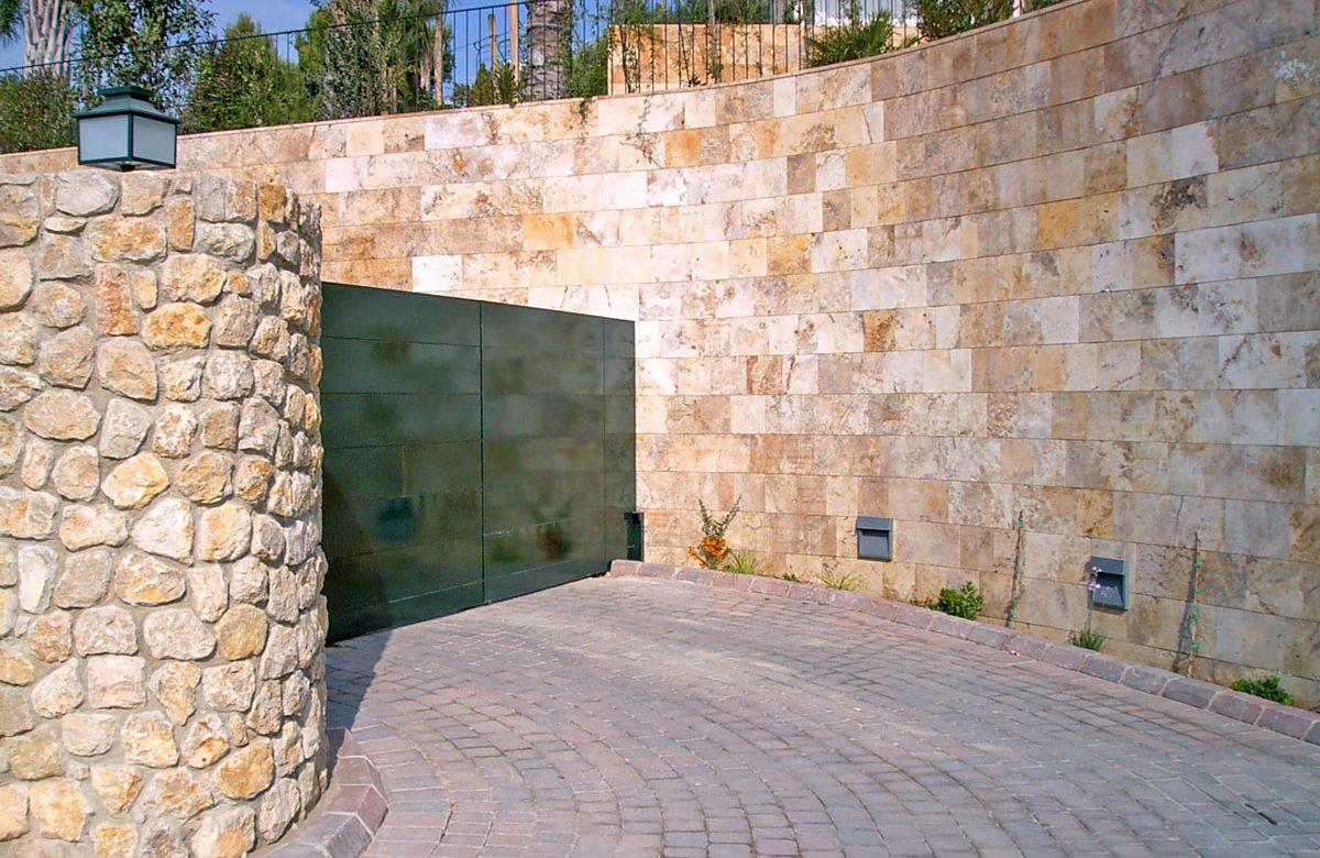 muro arenisca